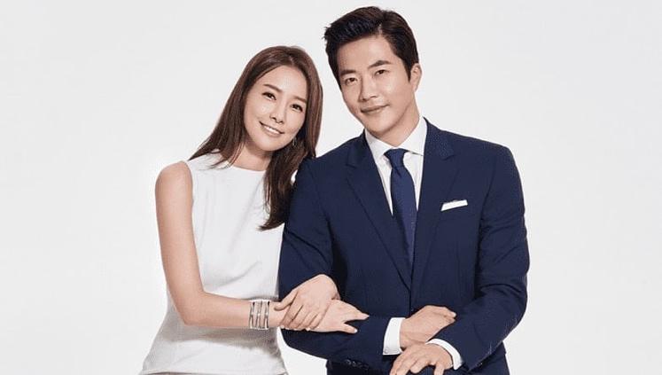 Kwon Sang Woo and Son Tae Young