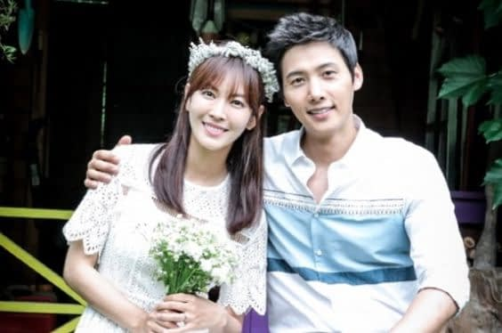 Kim So Yeon and Lee Sang Woo