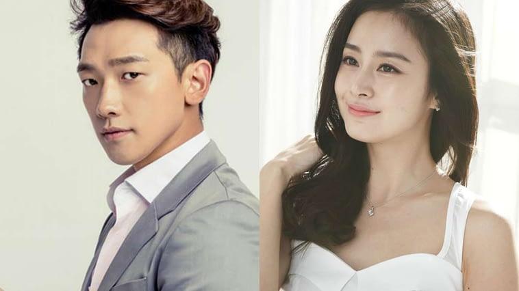 Rain and Kim Tae
